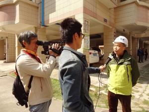 电视台采访